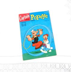 Vintage French 1974 Popeye Comic Magazine, Graphic Novel, Collection, Super Hero, Man Cave, Retro Home, France, Comic Book, Library, Child by VintageDecorFrancais on Etsy