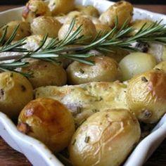 Lapin moutarde aux pommes de terre nouvelles © Christelle Vogel