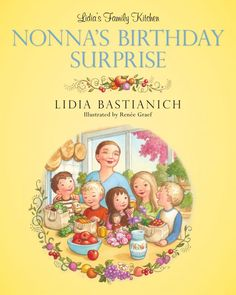 Chef Lidia Bastianich's wonderful book for kids about getting to know real food. Also includes recipes to push kids just a little: Pasta Primavera, Rice and Pea Soup, Carrot + Apple Salad.