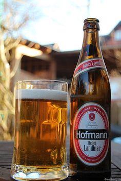 Helles Landbier von Hofmann Bier aus Pahres    www.hofmann-bier.de