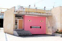 Striking Street Art by Spanish Artist Grip Face - PLAIN Magazine art art graffiti art graffiti definition art graffiti quotes art graffiti words art quotes wall art quotes Murals Street Art, Street Art Graffiti, Mural Art, Wall Murals, Wall Art, Graffiti Murals, Bd Design, Font Design, Spanish Artists