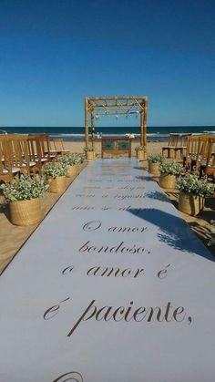 Passadeira Personalizada - #upperpistas  Casamento em Búzios RJ