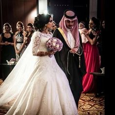 Traditional gulf arab wedding
