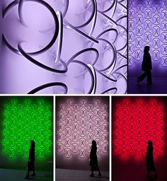 Angelic Architectural Lighting via Wall-Mounted LED Rings