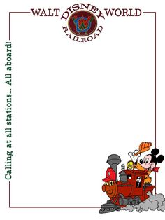 Journal Card - WDW Railroad - 3x4 photo dis_362_WDW_railroad.jpg