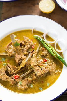 Mom's Mutton Chops Curry
