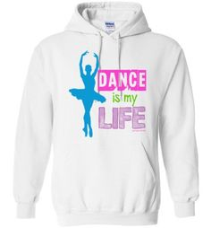 Golly Girls: Dance Is My Life Gildan Heavy Blend Hoodie from $24.99 only on gollygirls.com