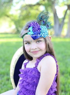 Check out this item in my Etsy shop https://www.etsy.com/listing/234606832/peacock-feather-headband-halloween