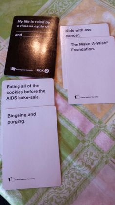 A party game for horrible people
