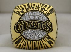 1989 San Francisco Giants NL National League World Series Championship Rings Ring