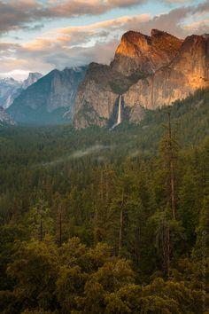 Icons of Yosemite - Bridal veil Falls by Shankarr Kalyanaraaman, via 500px