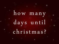 count the days til