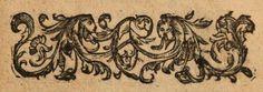 Gravure avec deux chèvres/ Engraving with two goats