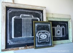 Making chalkboards isn't exactly a new-fangled idea but I am a simple gal who has a soft spot for easy projects that have alrea...