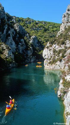 Les gorges du Verdon en canoë