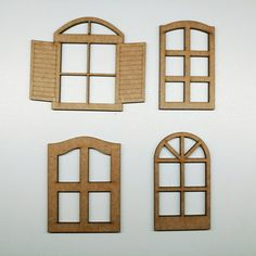 Diy Dollhouse, Dollhouse Furniture, Cardboard Crafts, Paper Crafts, Clay Fairy House, Doll House Plans, Clay Wall Art, Putz Houses, Fairy Doors
