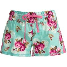 PJ Salvage Summer Separates Shorts - Cotton Voile (For Women) - in Large, $16