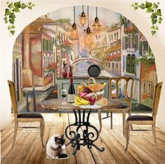 italian wallpaper mural  32 best Italian wall murals images on Pinterest | Murals, Wall ...