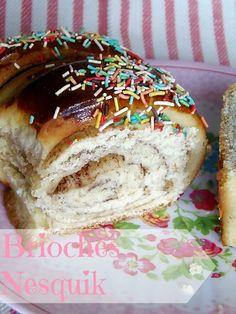Ricetta Brioches Nesquik per la colazione|Pane