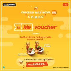 Flatty colour combined, I like it. | Me-Voucher - McDonald's Indonesia