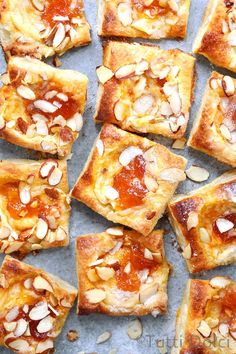 Irresistibly flaky and golden, these effortless apricot breakfast pastries come together quickly with store-bought frozen puff pastry. Breakfast Pastries, Breakfast Bake, Breakfast Ideas, Puff Pastries, Brunch Ideas, Frozen Breakfast, Breakfast Sandwiches, Breakfast Healthy, Breakfast Burritos