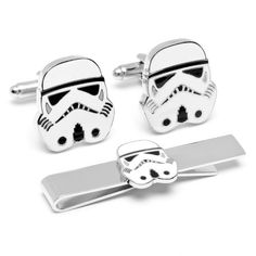 Officially licensed by Lucasfilm Star Wars Stormtrooper Cufflinks and Tie Bar Gift Set Cufflinks Inc,http://www.amazon.com/dp/B0097QFROC/ref=cm_sw_r_pi_dp_0e-hsb0MN5PV0SK5