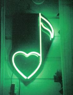 Image discovered by Victoria Chadwick. Find images and videos about heart, green and light on We Heart It - the app to get lost in what you love. Dark Green Aesthetic, Music Aesthetic, Aesthetic Colors, Aesthetic Pictures, Neon Words, Green Photo, Green Wallpaper, Neon Lighting, Neon Colors