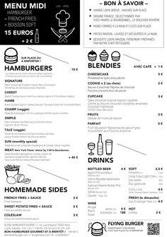 Blend burger - Paris
