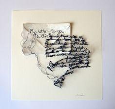 Maria Wigley Textile artist.