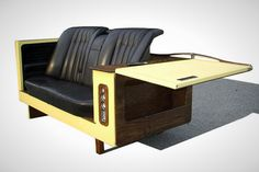Fridge Couch | 17 Quirky Couches Made from Repurposed Materials