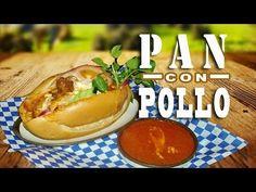 PAN CON POLLO - RECETA SALVADOREÑA - panes con pollo - YouTube