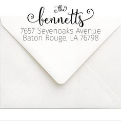 This Self-Inking Address Stamp will add style to your stationery and is a great way to easily add your return address by SouthernPaperAndInk on Etsy $25. Click to customize. return address stamps   self inking return address stamps   wedding stamps   custom rubber stamps
