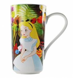 Disney Classic Alice In Wonderland Latte Mug