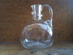 Vintage English Glass Bottle by EnglishShop on Etsy, $59.00
