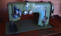 Adler in a cabinet