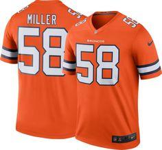 Nike Men s Color Rush Denver Von Miller  58 Legend Jersey e403dcd36