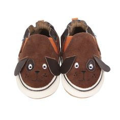 Puppy Dog Pete Soft Soles Baby Shoes | Robeez