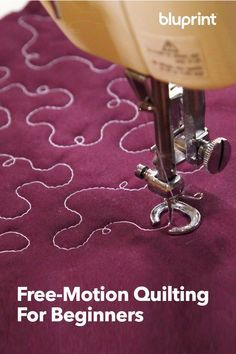 FreeMotion Quilting For Beginners Dont Fear FreeMotion Quilting is a free PDF guide featuring 14 pages packed with foolproof tricks and expert tips to help you achieve be. Machine À Quilter, Machine Quilting Patterns, Longarm Quilting, Free Motion Quilting, Quilting Tips, Quilting Tutorials, Quilting Projects, Sewing Projects, Machine Embroidery