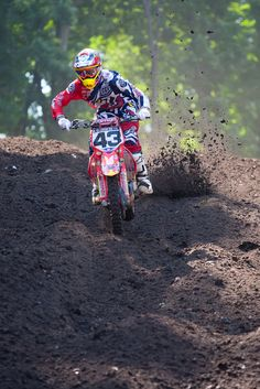 redbud_MX Huge braking bumps form in perfect dirt!