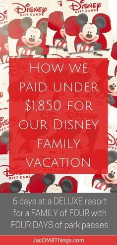 Learn how we planned a trip for our family of four to Walt Disney World for under $1850! (Including a 6 day stay at a deluxe resort, four-day park tickets, and airfare!) Read more on how you can save money on your next Disney vacation and do Disney World on the cheap! All the tips and tricks to save money, get the best discounts and deals, and do Disney World on a reasonable budget! Make sure you get the best deal on your vacation and plan a fun trip for the family without going broke! Disney Worlds, Disney World Cheap, World Disney, Disney On A Budget, Disney World Vacation Planning, Walt Disney World Vacations, Disneyland Trip, Disney Planning, Vacation Ideas