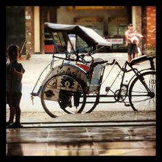 Becak,  Tradisional Indonesia