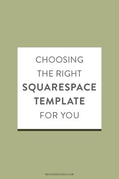 Compared to Wordpress, Squarespace doesn't offer many templates. This is a   serious deal-breaker for many, but for others it's amazing. It limits your   options and stops you from overthinking.     Even though there aren't many templates, you can still make your chosen   template unique by adding l
