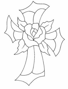 A web site with over 900 stained glass patterns FREE! Stained glass patterns are perfect for royal applications and color-flow as well as being great for transfers for buttercream. Stain Glass Cross, Faux Stained Glass, Stained Glass Projects, Stained Glass Quilt, Cross Patterns, Mosaic Patterns, Paint Patterns, Mosaic Art, Mosaic Glass