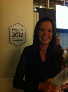 Årets Kvindelige Iværksætter 2012 blev...
