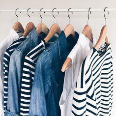 MINIMAL + CLASSIC: stripes + denim