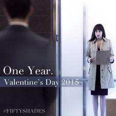 Primera imagen de Anastasia en el ascensor