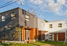 Modern homes exterior designs Hokkaido Japan. Interior Design Pictures, Home Interior Design, Exterior Design, Modern Homes, Architects, Design Ideas, Japan, Mansions, House Styles