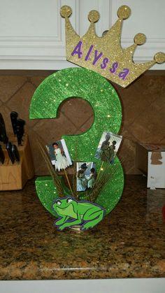 Birthday Princess and the frog Frog Birthday Party, Disney Princess Birthday Party, Baby 1st Birthday, 4th Birthday Parties, Princess Party, Birthday Ideas, Princesa Tiana, Leelah, Ava