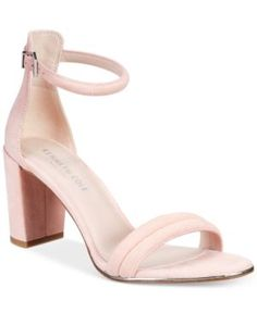 Kenneth Cole New York Women's Lex Block-Heel Sandals - Pink 6M