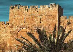 Gates of Jerusalem | The magnificent walls of Jerusalem's Old City constitute a living ...